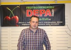 Peter Durlet van Fruitboomkwekerij Depa Fruit
