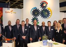 Het team van Frutas Luna, Marni Fruit en Four Seasons Fruit Supply met van links naar rechts Kees Havenaar, Joey Catita, Bas van der Waal, Patrick Konings, Erik- Jan Thur, Wim Bezemer, Medhat Samir, Niek Haerkens, Anita Kuiper, Anna Tomczak en Marco de Keijzer