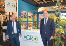 Antonio Oken en Etienne Vennink van de Agro Merchants Group.