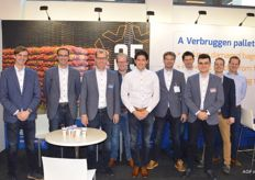 Het team van Verbruggen Palletizing Solutions.